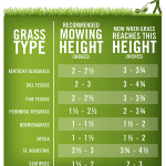 grass mowing height